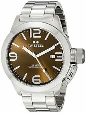 TW STEEL CB21 BROWN 45MM CEO CANTEEN WATCH - 2 YEARS WARRANTY