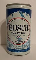 Vintage Busch Bavarian Beer Can Pull Tab Breweriana Empty 12 oz Collectible