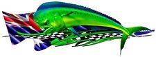 MAHI MAHI CAR/ TRUCK / BOAT/DECAL 1320mm X400mm LEFT /RIGHT