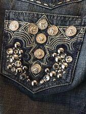 Women's BNWT Antik Denim Fawcett Low Rise Flare Jeans 29