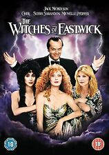 The Witches Of Eastwick - UK Reg 2 DVD - Jack Nicholson / Cher / Susan Sarandon