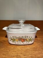 Corning Ware Spice of Life Casserole Dish with Lid  A-1-1/2-B  1-1/2 Qt