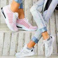 Neu Damen Sneaker Sport Damenschuhe Designer Bequeme Soft Turnschuhe Freizeit