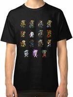 RARE!!Final Fantasy VI Men's Tees Shirt Clothing