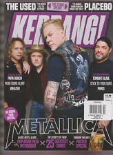 KERRANG MAGAZINE #1693 OCTOBER 2017, METALLICA full group on the cover.