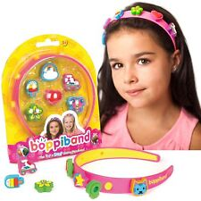boppiband Collectible Pop & Swop Charm Headband Hairband with 6 Charms