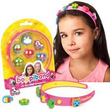 boppiband Collectible Pop & Swop Charm Headband Hairband with 6 Charms