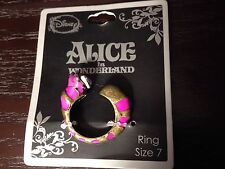 Disney Alice in Wonderland Cheshire Cat Ring Size 7