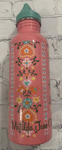 Matilda Jane Pink Dahlia Metal Water Bottle