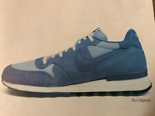 Vintage 1983 NIKE ODYSSEY RUNNING SHOES Poster Print Ad 1980s RARE