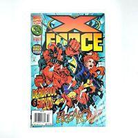 X Force Comic #47 X-Men Deadpool & Siryn Marvel October 1995