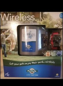 NEW Sealed - PetSafe PIF-300 Wireless Dog Fence Outdoor Pet Containment System