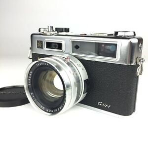 [EXC+++++] YASHICA Electro 35 GSN 35mm Rangefinder Film Camera From JAPAN
