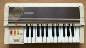 Vintage Bontempi Memoplay Electronic Computer Organ Piano. Original Box. Italian