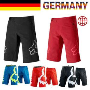 Fox Racing Shorts Herren MTB DH Mountainbike Radhose Demo Shorts Sommer SPORT