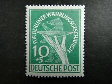 Germany 1949 Stamp MINT Offering Plate & Berlin Bear GERMAN OCCUPATION SEMI-POST
