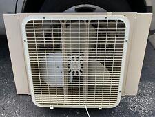 Vintage Lakewood Metal box Window Fan intake/outtake Clean!