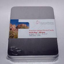 Hahnemuhle Photo Rag 308 post Card Tin  30 cards
