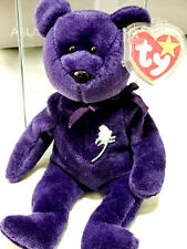 "1997 Ty ""Princess Diana"" Beanie Baby. Rare Edition. Made in Indonesia"
