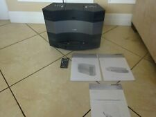 Bose Acoustic Wave Music System II, 5 CD Disc Changer With Remote, Manuals
