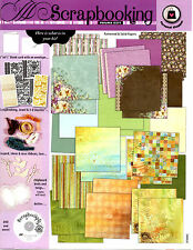 New Scrapbook Kit - Paper - Ribbons - Stickers - DVD / Crafts / Birds & More!