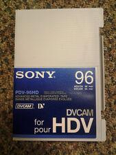 Sony DVCAM 96 min (HDV/DV 96 min). New!