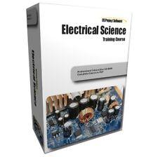 AUC ELECTRICAL Science DC AC TEORIA TRAINING Studio corso manuale su CD