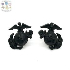 New listing Vietnam War Us Marine Corps Eagle Globe Anchor Insignia Ega Collar Set