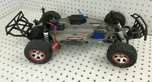 Used TRAXXAS Slash 1/10 RC Buggy Rolling Chassis w/ 2075 servo & XL5 ESC