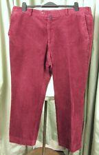 """DGs Plum Purple Cotton Corduroy Trousers W40"""" L27.5"""""""