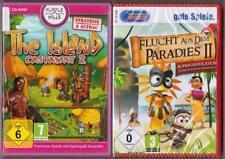 Flucht aus dem Paradies II 2 + The Island Castaway 2 Sammlung PC Spiele