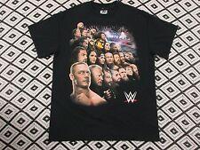 WWE 2015 TOUR LIVE T shirt Wrestling Size M