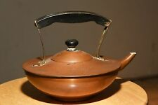 ANTIQUE SIGNED COPPER BRASS KETTLE LANDERS FRARY CLARK SIGN