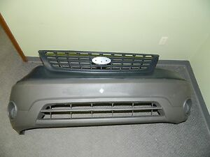 New OEM 1999-2003 Ford Windstart BASE & LX Mineral Grey Bumper Cover