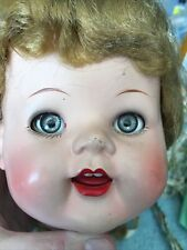 Ideal Vintage 22 Inch Doll With Teeth - For Parts Or Repair