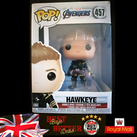 Funko POP! Hawkeye 457 Marvel Avengers Endgame Vinyl Figure NEW UK SELLER