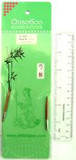 "9"" ChiaoGoo Bamboo CIRCULAR Knitting Needles, Assorted Sizes"