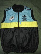 Adidas Star Wars Body Warmer Jacket Hoth C-3PO Han Solo Luke Skywalker M Medium