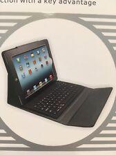 NIB iPad Beatech Bluetooth Keyboard w/ Protective Slim Lined Leather Case BLACK