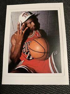 "Michael Jordan NBA Finals Sticker Decal 3 peat #23 Chicago Bulls 3.5"" x 2.8"""