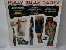 """hully gully party""""the lions/h.nicolas/les gamblers""""lp12""""or.fr.bar:82321 de 1963"""