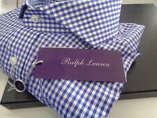 NEW WITH TAGS RALPH LAUREN PURPLE LABEL DRESS SHIRT KEATON COLLAR