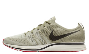AH8396-201 Nike Flyknit Unisex Trainer Running Shoes Neutral Olive