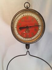 Antique John Chatillon & Sons Hanging Scale 20lb Pangeneral store New York City