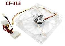 120mm 3-Pin/ 4-Pin CPU Crystal LED Sleeve Bearing Case Cooling Fan, CF-313