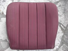 Mercedes W124 Sitzbezug vorn Mopf 0 85-89 Stoff rot front cushion cover red 077