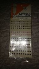 Almarks Decals 1/76 Model Transfers T4 Alamein. New. For Military Vehicles