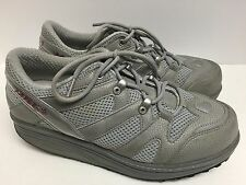 MBT Sport Gray Walking Shoes 9.5 M Swiss Orthodic Posture Toning Rocker Sole
