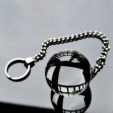 """Ben Wa Ball - Glass - Kegel - With Chain and Ring - 1.9"""" 5cm"""