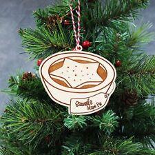 Pastel de carne de Navidad Personalizado Adorno